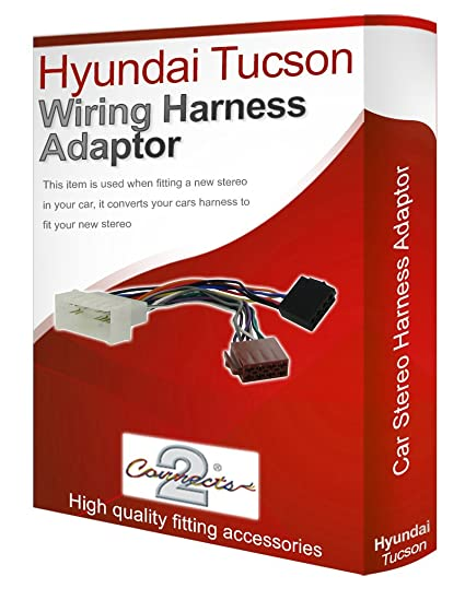 Terrific Hyundai Tucson Cd Radio Stereo Wiring Harness Adapter Amazon Co Uk Wiring Cloud Favobieswglorg