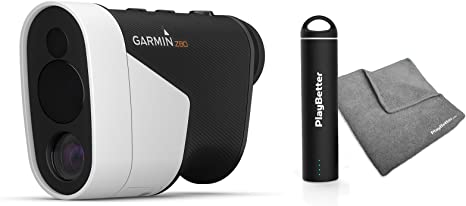 Garmin Approach Z80 Golf Rangefinder [with GPS] Power Bundle | Includes PlayBetter Portable USB Charger & PlayBetter Microfiber Towel | Hybrid ...