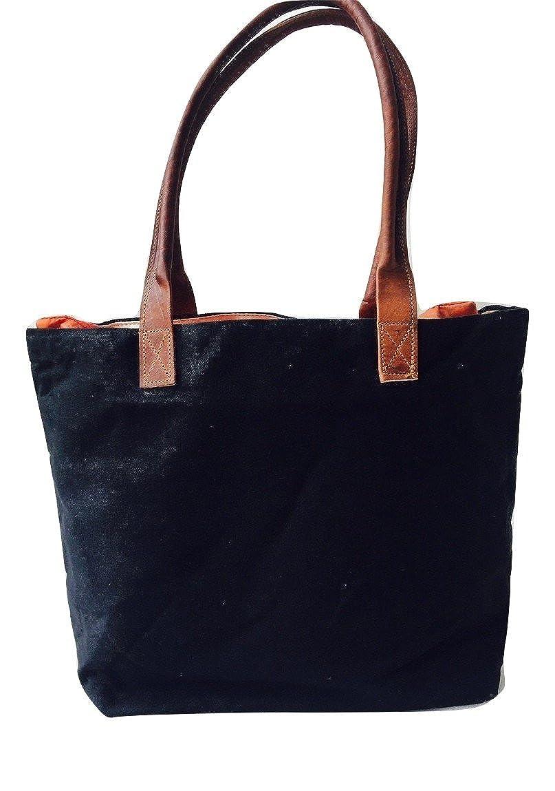 Amazon.com: Vintage Leather Canvas Women