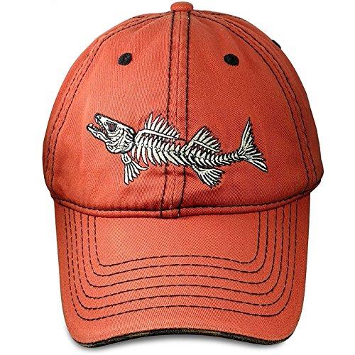 90be7ba031c78 Fishing Hat Orange Dad Cap - Baseball Cap Fishing Cotton Hat - Fishing Hat  for Men