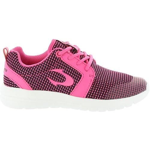 Zapatillas Deporte de Niño y Niña y Mujer JOHN SMITH UROS JR 17V Negro-Fucsia: Amazon.es: Zapatos y complementos