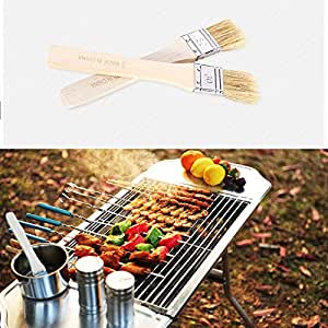 1 * Baking Basting Brush Bread Butter Spreader Grill Cook BBQ Oil Pastry Brush