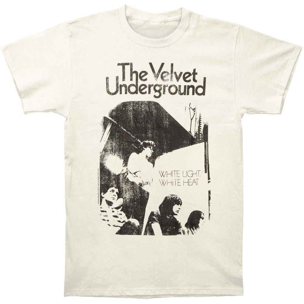 Impact The Velvet Underground White Light/White Heat Adult Fitted Jersey T-Shirt Tee