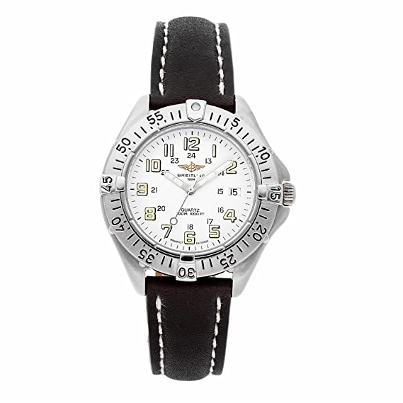 Breitling Colt A57035 - Reloj de cuarzo para hombre (certificado de autenticidad)