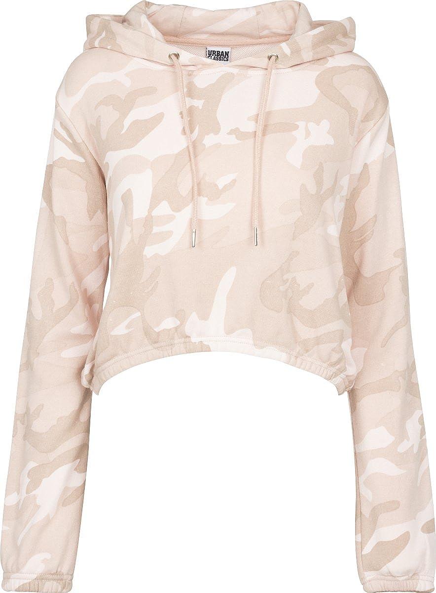 Urban Classics Ladies Camo Cropped Hoody - Sudadera con capucha Mujer