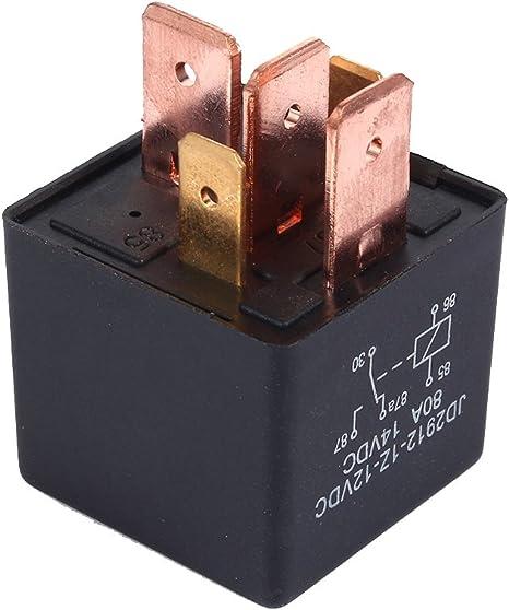12V Umschalt 80A AMP Split Charge 5 Pin Wechselrelais Leistu Qiilu Motor Relais