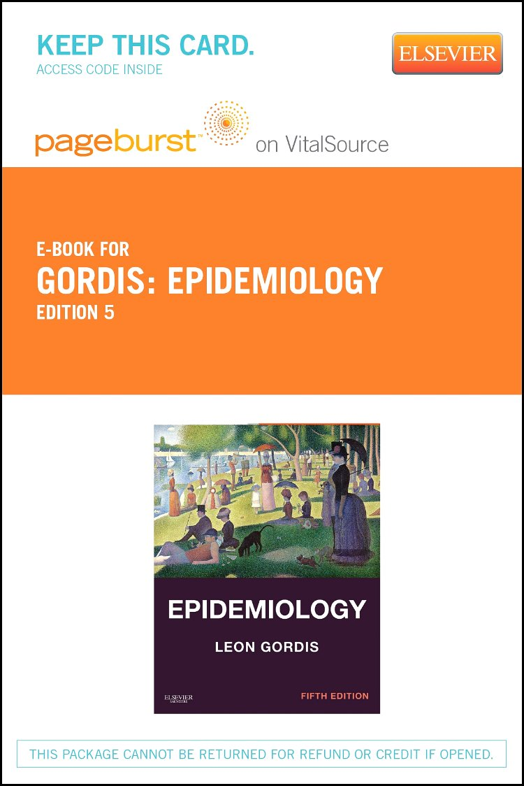 Epidemiology - Elsevier eBook on VitalSource (Retail Access Card)