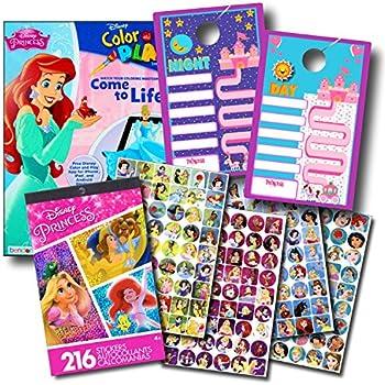 Disney Princess Coloring And Activity Book Super Set 2 Books 4 Pop