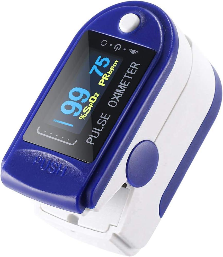 Oxímetro Pulso Dedo Pulsioximetro Modelo De Lujo Medidor Digital De Oxígeno En Sangre Con Alarma, SPO2, Adultos, Niños, Para Uso Deportivo. Tempir Para Confiabilidad Y Excelente Atención Al Cliente