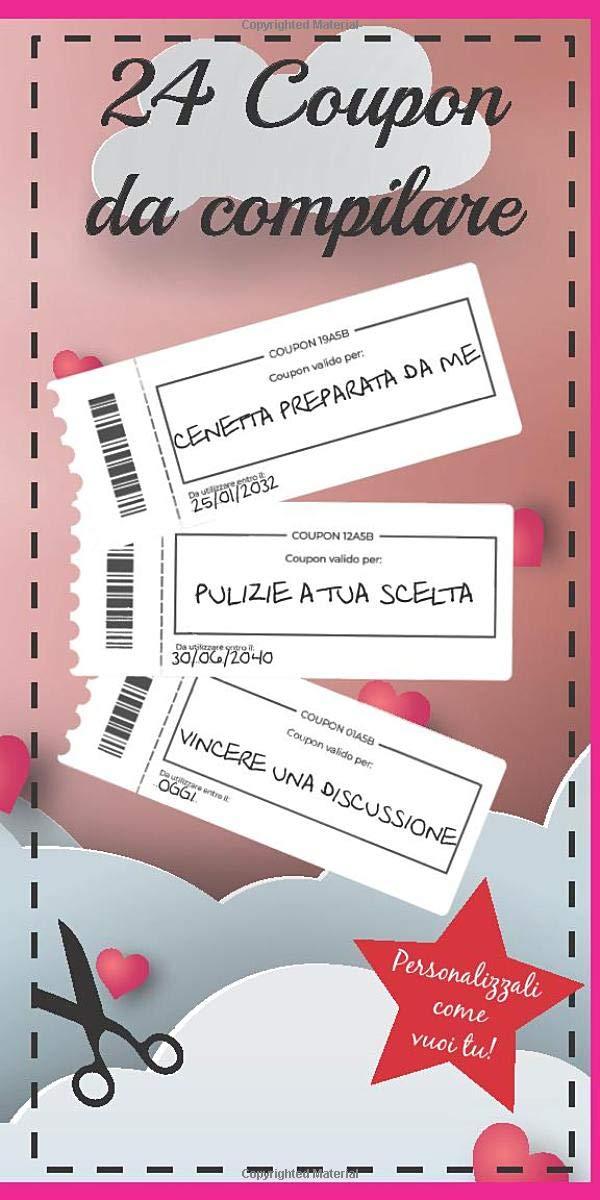 Blocchetto 24 Coupon in Italiano da Compilare e regalare a chi vuoi...