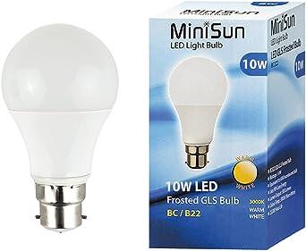 New 12W 15W LED BC E27 GLS Light Bulb Energy Saving Lamp Cool white Warm White