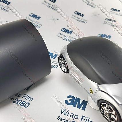 3M 1080 M22 MATTE DEEP BLACK 5ft x 1ft 5 Sq//ft Car Wrap Vinyl Film