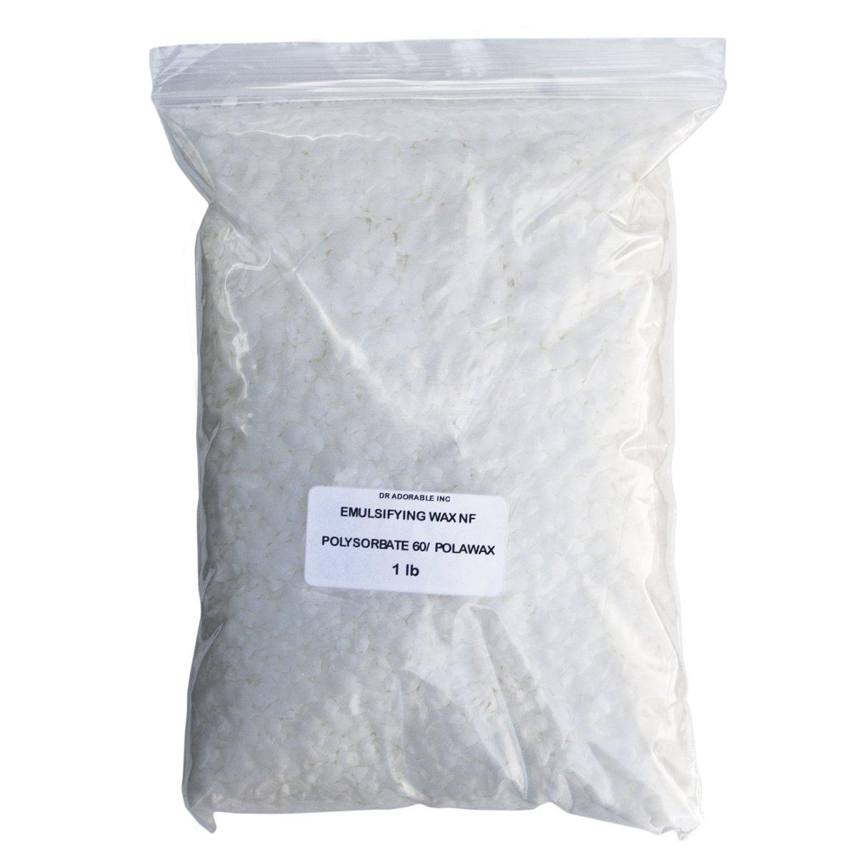 Emulsifying Wax Nf/Polysorbate 60/ Polawax 1 Lb