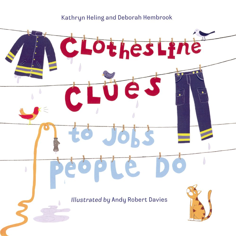 Clothesline Clues Jobs People Do