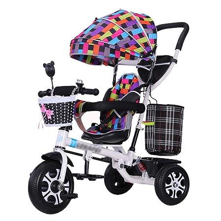 CC - Strollers Silla De Paseo para Niños Trike Triciclo De Empuje ...