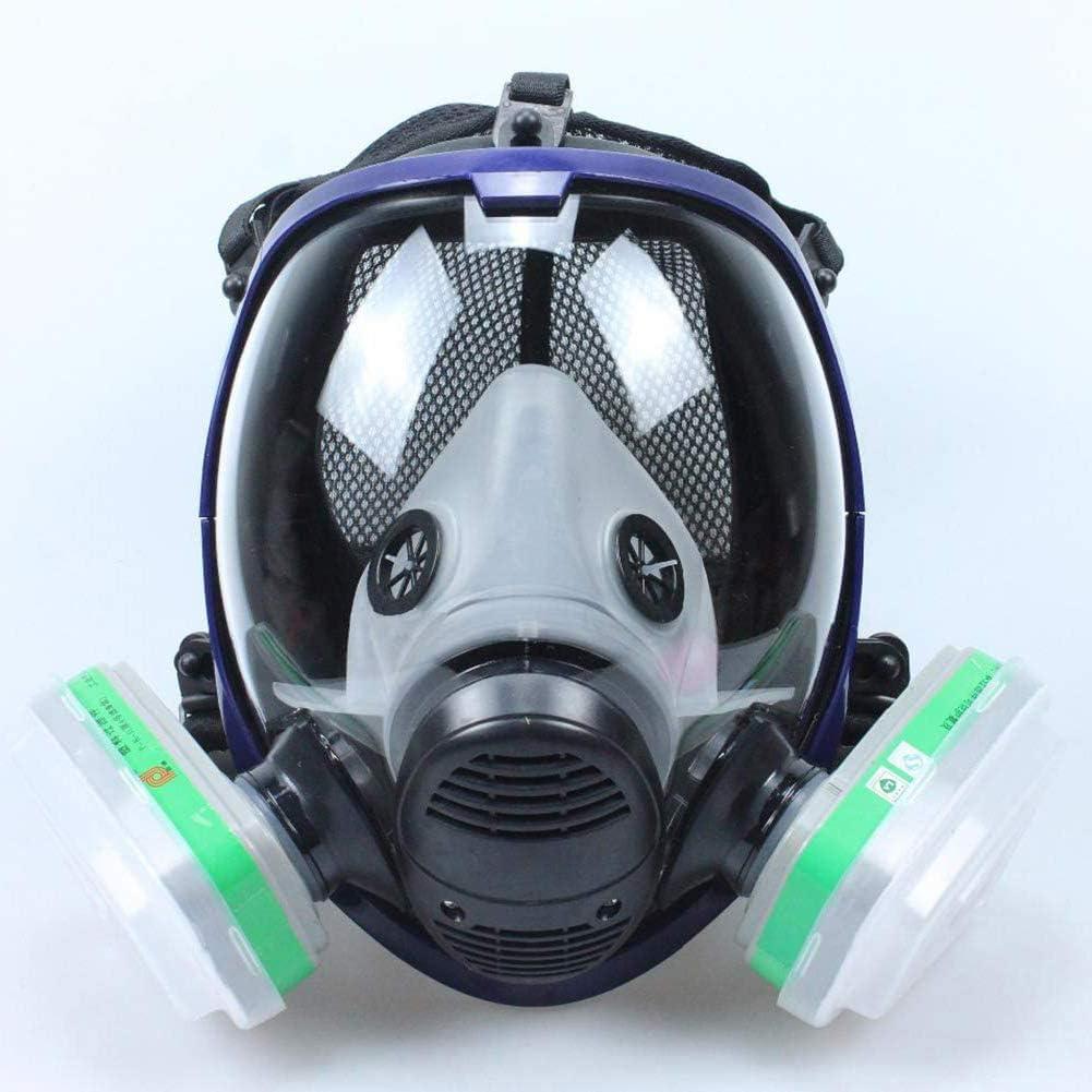 anking Protección Respiratoria De Máscara Completa, A Prueba De Gas, Especial para La Protección De La Seguridad Pública, Industria, Hogar