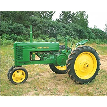 Amazon.com: Red Farmall M Vintage Farm Tractor Wall Decor Art Print ...