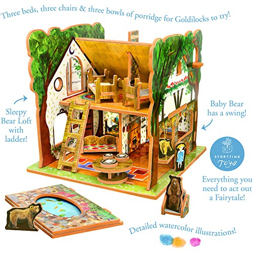 Storytime Toys Goldilocks And The Three Bears Fairytale