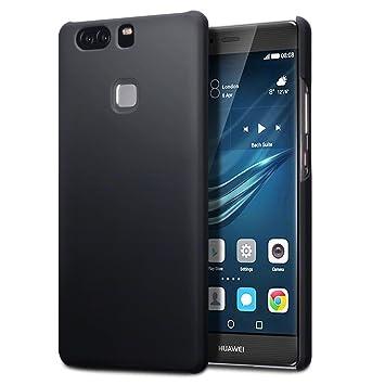 Huawei P9 Plus Carcasa Híbrida - Negro oscuro