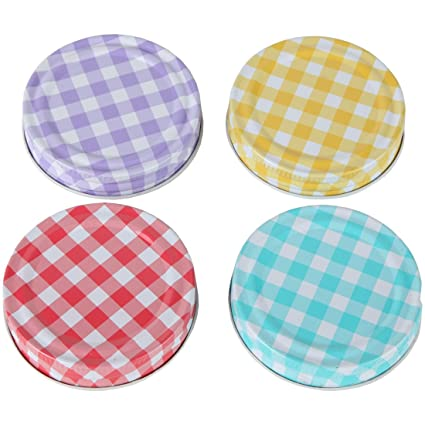 Amazon Lily's Home Decorative Canning Lids For Mason Ball Jars Classy Decorative Lids For Canning Jars
