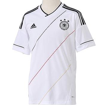 4f3018e1cc1 adidas Boys' Replica Football Shirt Germany Home weiß/schwarz Size:152