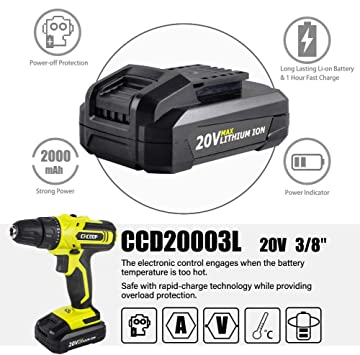CACOOP CCD20003L Power Drills product image 5