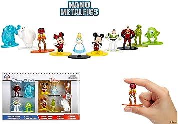 Jada Disney Nano Metalfigs Diecast Mini Figures 10-Pack Wave 1 4 cm Toys: Amazon.es: Juguetes y juegos