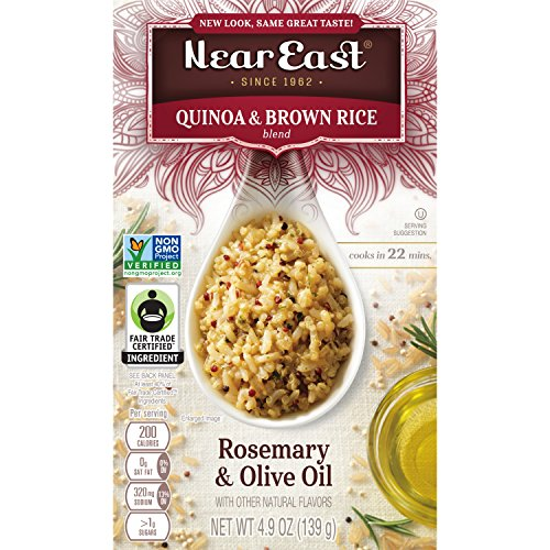 Near East Rosemary and Olive Oil Quinoa, 4.9-Ounce (Pack of 6) by Quaker