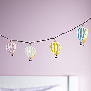 Superbe Lights4fun Guirlande Lumineuse Enfant Montgolfières à LED Blanc Chaud