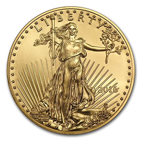 2016 1/2 oz Gold American Eagle BU 1/2 OZ Brilliant Uncirculated