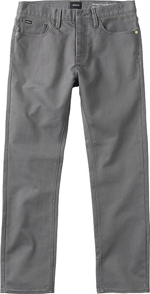 Rvca Men S New Normal Pvsh Fresh Denim At Amazon Men S Clothing Store