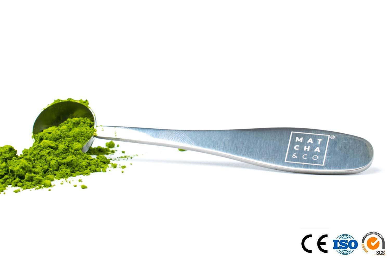 Mesure Tasse Acier Inoxydable 18//8 Dose de 1 g Cuill/ère doseuse pour th/é Matcha