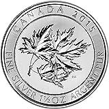 #2: 2015 CA Canada Silver SuperLeaf (1.5 oz) $8.00 Brilliant Uncirculated Royal Canadian Mint