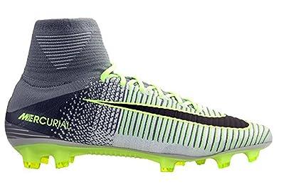 factory authentic ba8d1 3454e Nike Mercurial Superfly V FG, Chaussures de Football Homme, Plateado (Pure  Platinum/