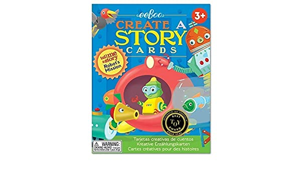 Amazon.com: Eeboo : Tell me a Story : Robots Mission by ...