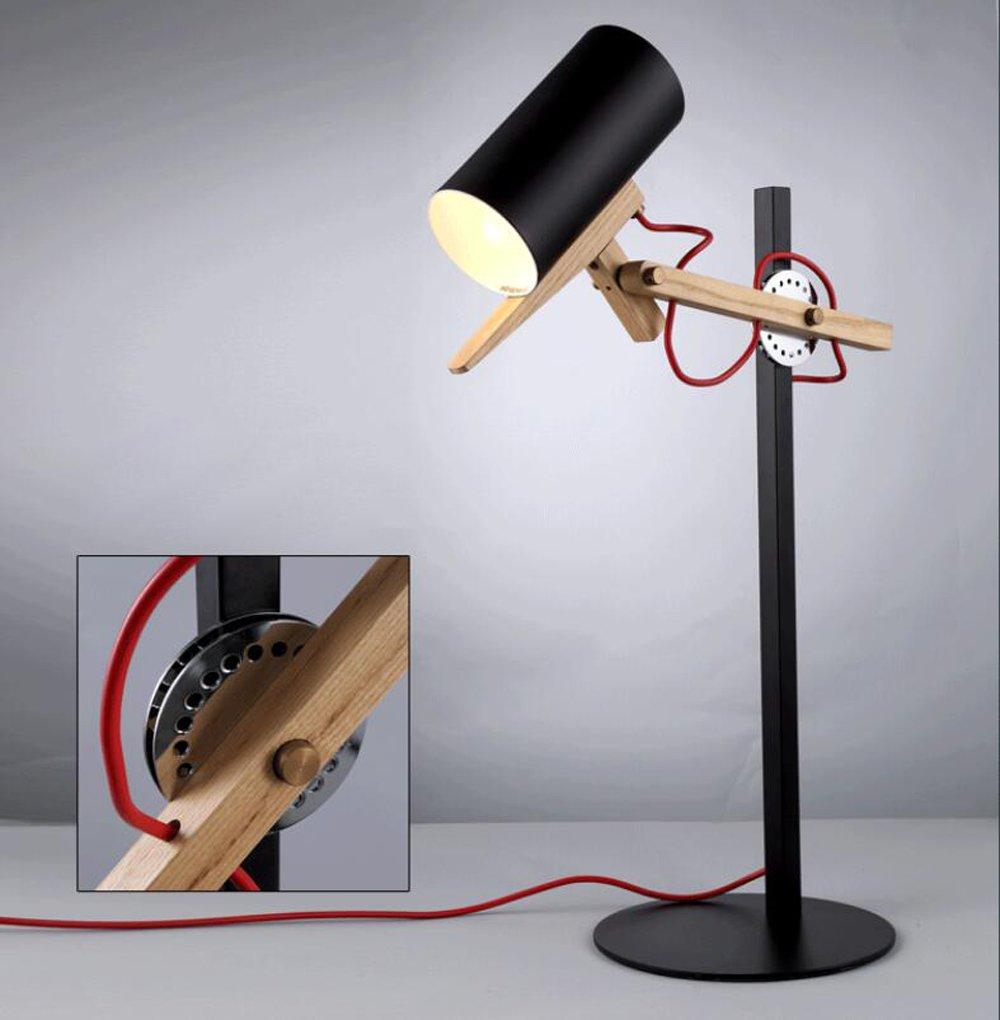 Nordic Wohnzimmer Esszimmer den Schlafzimmer Nacht kreative mechanische Drehtischlampe,a