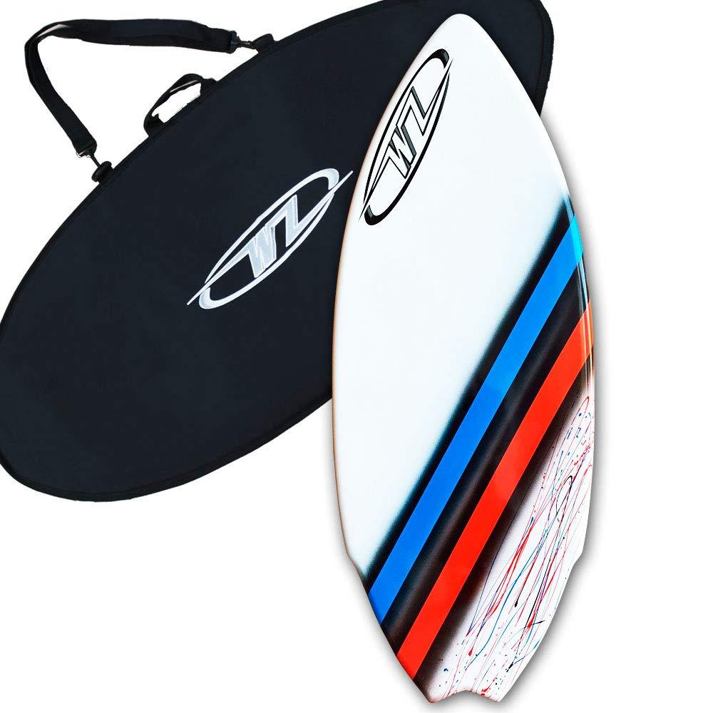 ランキング第1位 Wave Zone パフォーマンスフィッシュフック – ファイバーグラス製スキムボード Bag 最大200ポンドまでのライダー用 – Zone 51 – 1/2フィート×20 3/4フィート×5/8フィート B01N98WAAK レッド Board + Bag Board + Bag|レッド, さとうガラス工房 ArtGift店:0ae80f78 --- diesel-motor.pl