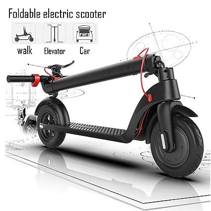 Amazon.com: HTYX - Patinete plegable eléctrico para adultos ...