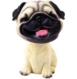 Andux Zone Bobble Head Dogs Mini Puppy Dog Figure for Car Dashboards Nodding Dog Decorations MQBJ-01