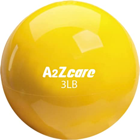 a2zcare Toning Ball – Pelota de peso Mini blanda/balón medicinal ...