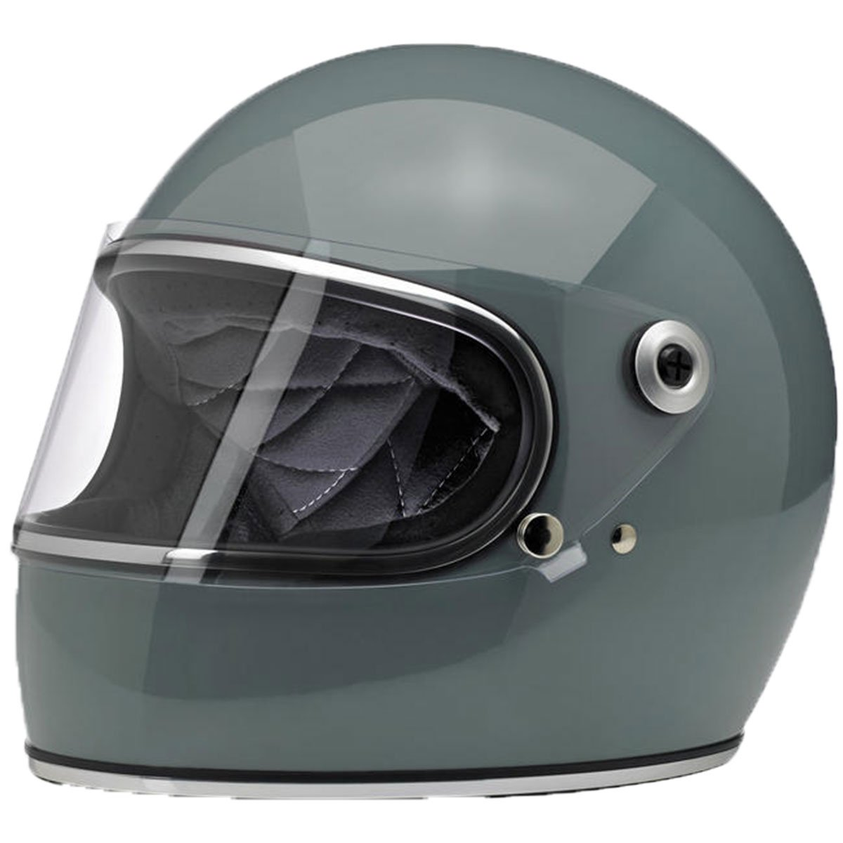 Gloss Agave//X-Large 0101-9904 Biltwell Gringo S Solid Full-face Motorcycle Helmet