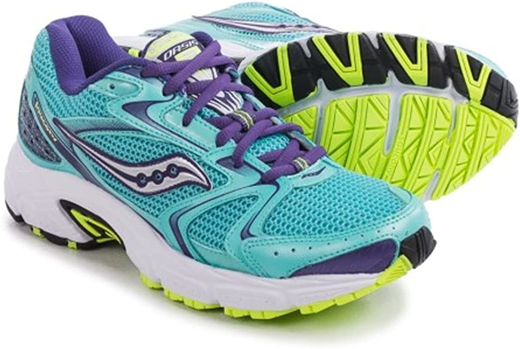 Saucony Womens Grid Oasis 2 Teal/Blue