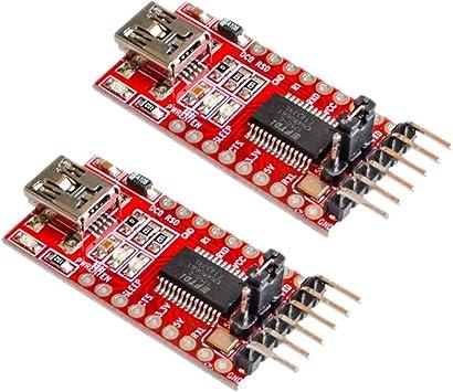USB to TTL CH340G Serial Converter Adapter Module 3.3V 5V FTDI Arduino Port