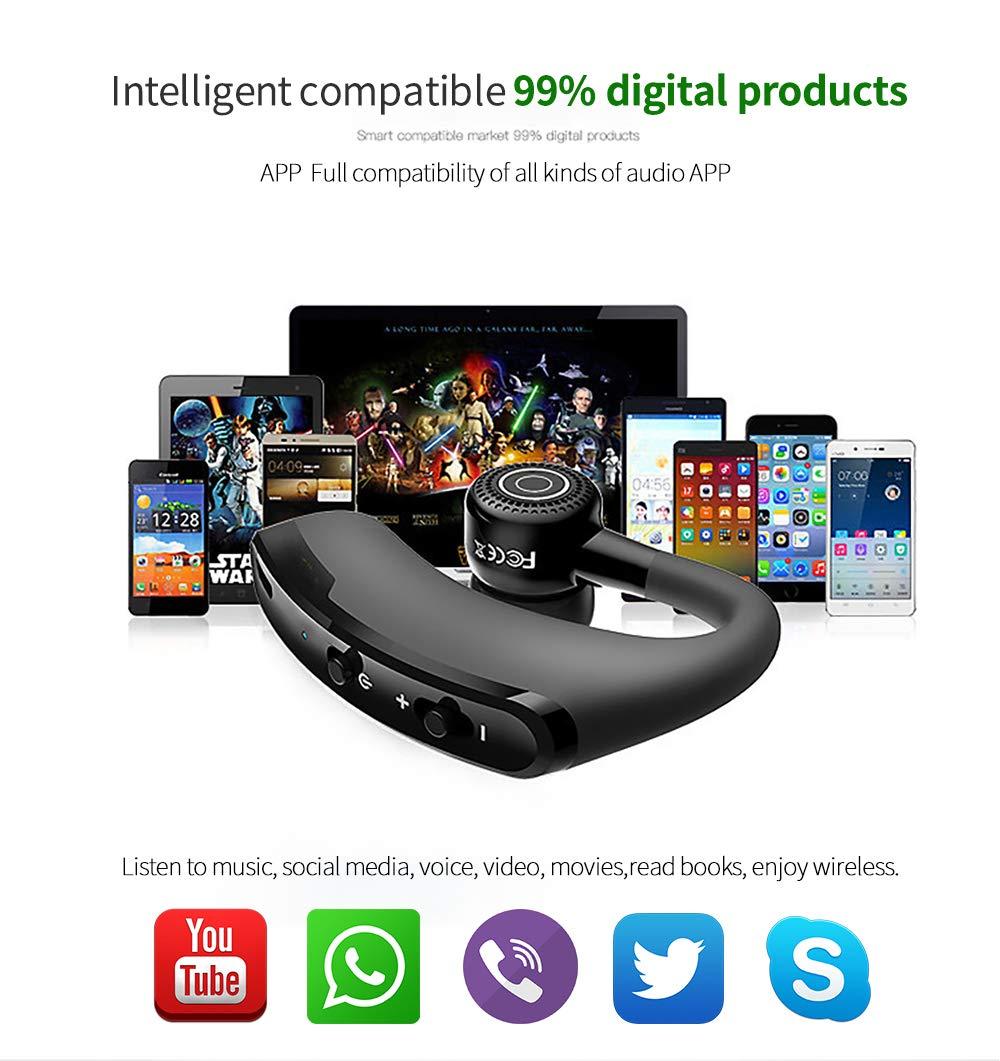 YFQH Estéreo Inalámbrico V9 Auricular CSR Bluetooth Auricular Estéreo con Control De Voz: Amazon.es: Deportes y aire libre