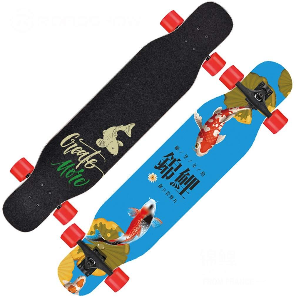 【10%OFF】 DUWEN DUWEN スケートボードロングボード初心者大人の男の子と女の子のブラシストリートダンスボードティーンエイジャー四輪スクーター (色 (色 B07NRBYRWH : C) B07NRBYRWH A A, 5階寝具売場:b2fdb18f --- a0267596.xsph.ru