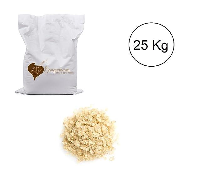 Copos de arroz integral BIO de 25 kg