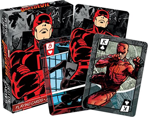 Aquarius Marvel Daredevil Comics Playing Cards (Comics Playing Cards)