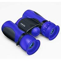 Caferria Binoculars for Kids Best Gift Toy 8x21 High Resolution Real Optics Compact Kids Binoculars Shockproof Mini…