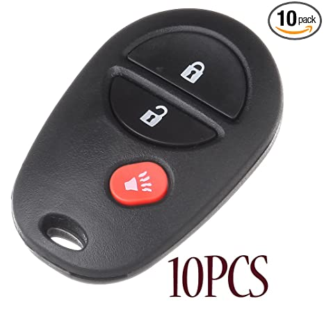 2011 toyota highlander key fob replacement