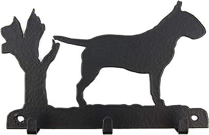 Garderobe mit Hundemotiv Schl/üsselbrett Tierisch-tolle Geschenke Welsh Corgi Pembroke Leinengarderobe